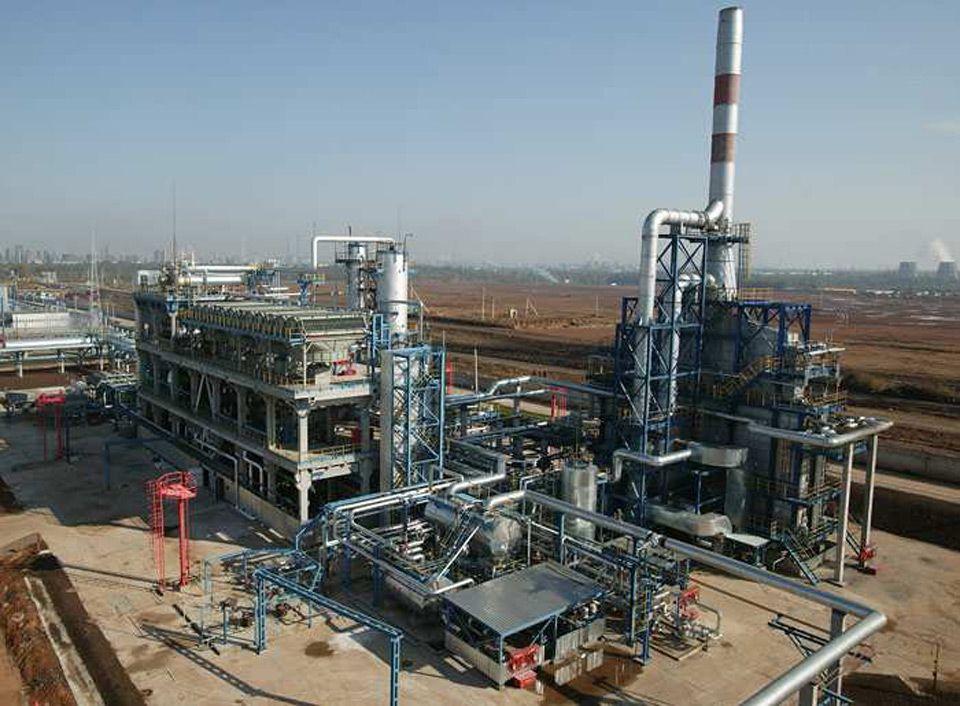 Завод по переработке газового конденсата
